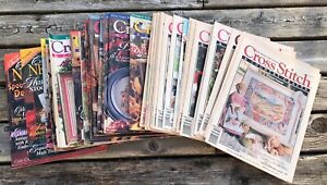 $2-$3 1990's- 2000 Vintage Cross Stitch & and Country Craft Magazine -You Pick-