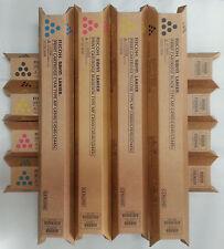 Genuine Ricoh Savin Lanier Gestetner Toner 2 SETS K,M,C,Y MP C4500 MP C3500