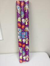 3 x American Greeting Nickelodeon Rugrats Ren & Stempy 20 Sqft Gift Wrappin