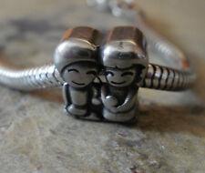 Edelstahl Bead Element Beste Freunde Best Friend Fb Antiksilber für Armband 1407
