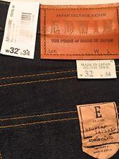 EDWIN Classic Regular Jeans Japan Denim Rainbow Selvage I021608 W32 L34