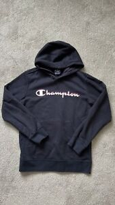 Champions Kids Hoodie Navy Size Large 11/12