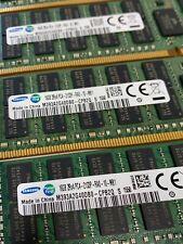 64GB (4x16GB) PC4-17000P-R DDR4 ECC Reg Server Memory RDIMM RAM for Dell T5810