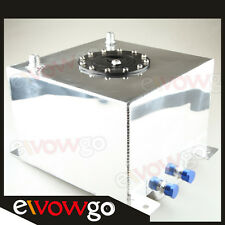 Universal Mirror Polished Lightweight Aluminum 20L / 5 Gallon Fuel Cell Tank