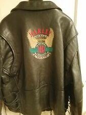 Harley Davidson Black Motorcycle Jacket size 50