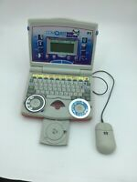 Vintage 1999 Team Concepts Electronic Talking Comquest Disk Master Laptop AS-IS