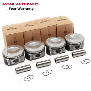 ATG Piston & Piston Ring Φ21mm Set Fit For VW Golf Tiguan Audi A3 A4 Skoda Seat