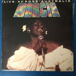 Marcia Hines - Live Across Australia - LP Vinyl Record Album
