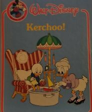 *Vintage * 1984 Childrens Walt Disney Kerchoo! Get Well Fun Activity Craft Book