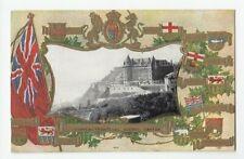 Chateau Frontenac QUEBEC QC Canada 1908 Patriotic Warwick Bros. Postcard
