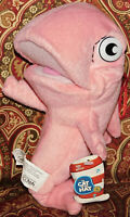 Dr Seuss Cat In The Hat Plush Pink Fish Mr. Krinklebine New Tags NWT Toy Nanco