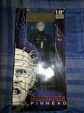"Neca 18"" Pinhead Figurine Hellraiser Motion Activated Sound NMIB"