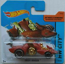 Hot Wheels Knight Draggin blutorange HW City Neu/OVP Mattel Spielzeugauto Drache