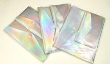 Poly Document Snap Envelopes NIP 2pk, Lot of 3 Home Business Rainbow Holographic