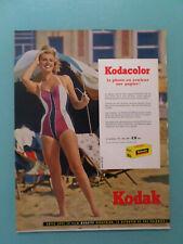 publicités ancienne PELICULES PHOTO KODACOLOR DE KODAK    (B5 )