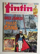 #111 le journal de Tintin N496 12,mars 1985 Bruce j. Hawker press gang