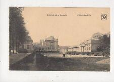 Tournai Hotel De Ville Belgium Vintage Postcard 945a