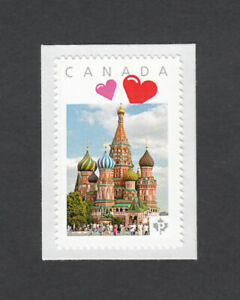 SAINT BASIL'S CATHEDRAL = picture postage stamp MNH Canada 2014  [p5sn5/5]