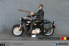 ZYTOYS ZY15-26 1/6 T-800 Black FATBOY motorcycle Harley Davidson