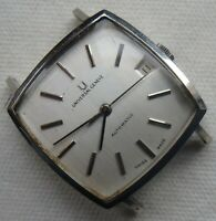Universal Geneve Automatic microrotor mens wristwatch steel case 31 mm. aside