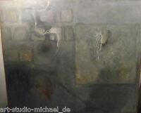 Große abstrakte Komposition in Form eines Mauerbildes