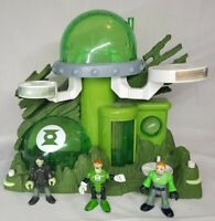 2009 Imaginext Green Lantern Planet Lair Figures - Play Set