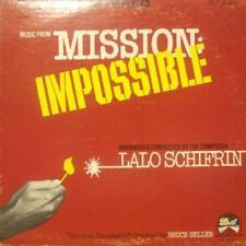 Lalo Schifrin (vinilo Lp) Misión: imposible-punto-Dlp 25 831-US-1968-Ex/Ex -