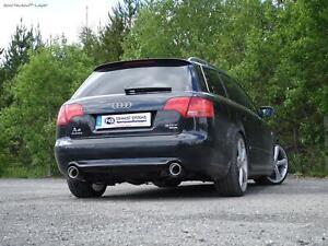 Fox Duplex Sportauspuff Audi A4 B7 Typ 8E Limousine/Avant 1.8T & 2.4l 1x90mm