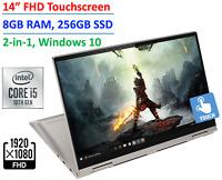 "2020 Lenovo Yoga C740 2-in-1 14"" TouchScreen Laptop Intel Core i5  8GB 256GB SSD"