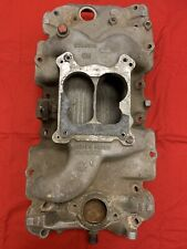 BBC GM Marine Aluminum Intake Manifold w/ Brass Lining  6269318  Chevy  454  502