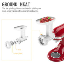 Food Grinder and Sausage Tube Attachment for KitchenAid Stand Mixer From Antree
