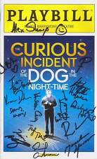 The Curious Incident of the Dog in the Night-Time Signed Cast Playbill