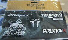 Triumph Bonne Patch Aufnäher Set MPAS16968 Street Twin Thruxton R Bonneville