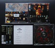 TESTAMENT Low 1994 JAPAN 1ST PRESS CD w/OBI AMCY-737 OOP THRASH James Murphy