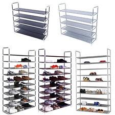 10 Tier 50 Pair Shoe rack Saving Storage Organizer Standing Racks sortout Rack