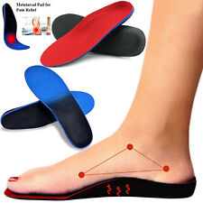 Plantar Fasciitis Feet Insoles Supports Inserts Relieve Flat High Arch Foot Pain