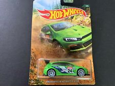 Hot Wheels Volkswagen Scirocco GT24 Green Rally Racing 1/64