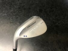 GENUINE LEFT HANDED CLEVELAND GOLF RTX-3 V-MG WEDGE - 56 DEGREE 2 DOT
