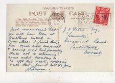 London [B] MATASELLOS Imperio exposición Glasgow 1938 eslogan 472b
