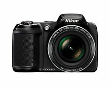 NEW Nikon Coolpix L340 Bridge Camera -Black (20 MP, 28x Optical Zoom) 3-Inch LCD