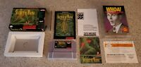 Secret of Mana Super Nintendo SNES RPG Game Map Box Manual Complete CIB Lot !!!!