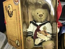The Bears of Sagamore Hill: Archibald Roosevelt with dog Teddy Bear Euc box