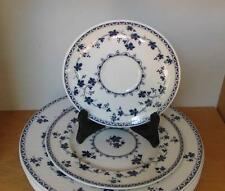 Royal Doulton Yorktown Dinner Plate Salad Plate and Saucer Three (3) Pieces