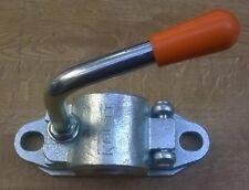 Kartt 48mm Premium Quality Cast Jockey Wheel Clamp Ribbed Hinged Easy to Use