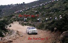 Jimmy McRae Mitsubishi Galant VR-4 Acropolis Rally 1989 Photograph 2