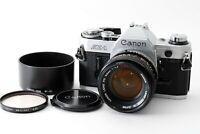Exc+5 Canon AE-1 w/ FD 50mm f1.4 SSC 35mm SLR Film Camera Japan 496340