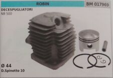 CYLINDRE PISTON COMPLET DÉBROUSSAILLEUSE ROBIN NB 500 Ø 44