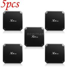 5Pcs X96MINI Android 7.1.2 Smart TV Box S905W 1GB+8GB Quad Core HD Mini PC A7M4