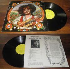 ROGER SIFFER - Follig Song LP ORG French Alsacian Folk Rock Prodisc 72' NM