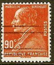 "FRANCE TIMBRE STAMP YVERT N° 243 "" MARCELIN BERTHELOT 90c "" OBLITERE TB"